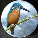miniature sur cadran micro-peinture