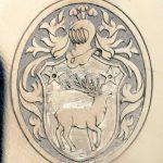 gravure main chevaliere